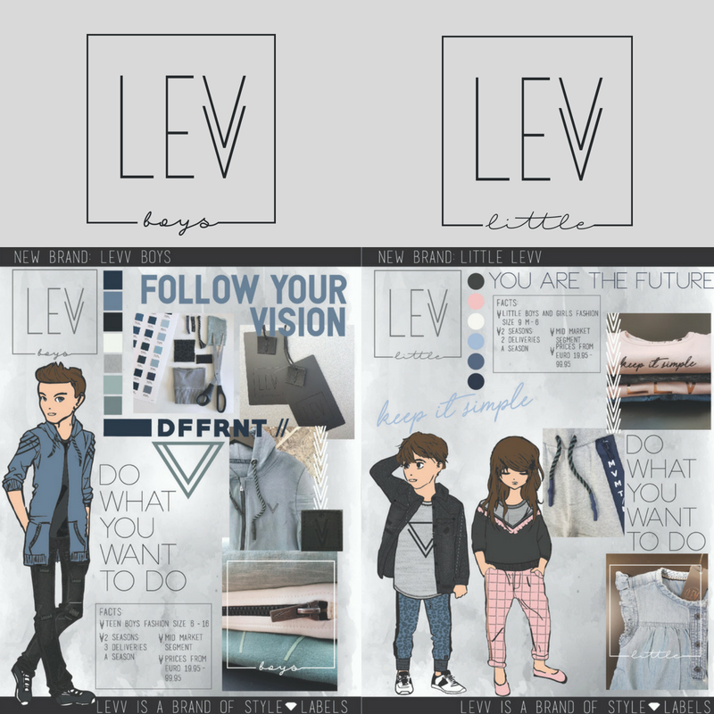 Brandcards Levv Boys Little Levv
